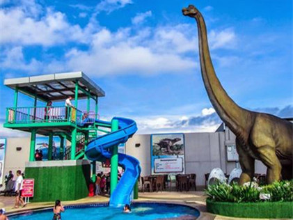 Dinosaurs Alive Water Theme Park Johor