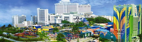 Private Car From Singapore To Genting Highlands Theme Park
