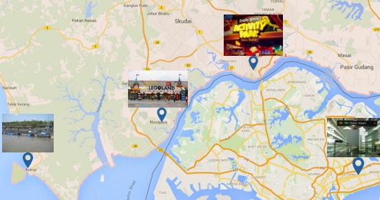 Legoland Malaysia Transportation From Singapore